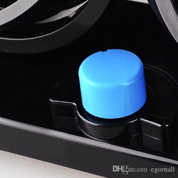 12 V Mini ventilatore auto elettrica a basso rumore d'estate auto Condizionatore d'aria 360 gradi di rotazione 2 Gears Ventilatore auto regolabile Ventola di raffreddamento ad aria