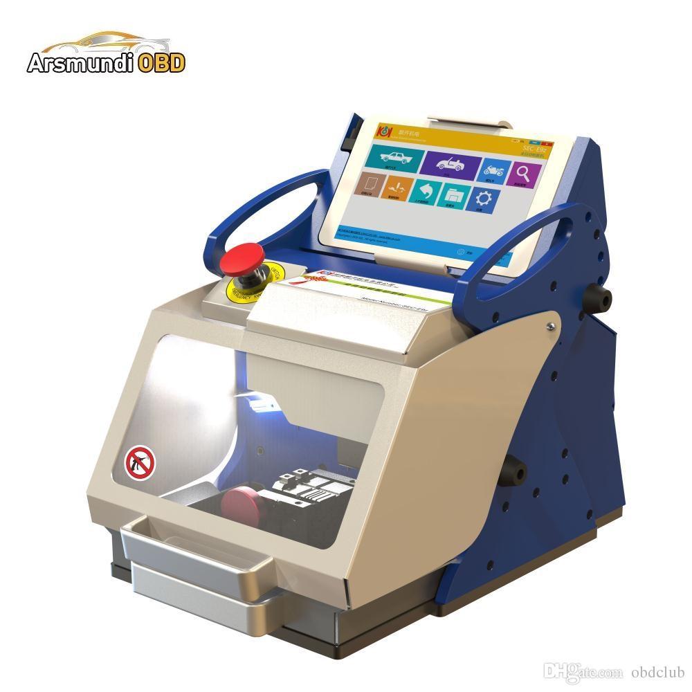 2017 new good DHL free shiping SEC-E9z full automatic key cutting machine numerical control key machine
