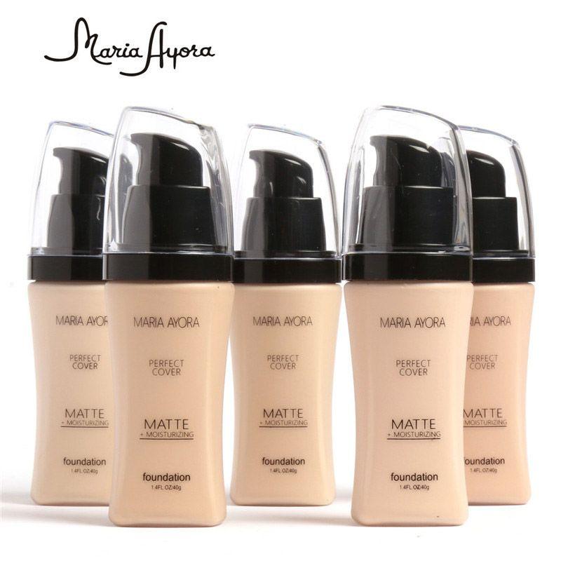 Make up MARIA AYORA Liquid Foundation база для лица BB крем корректор осветлить отбеливание кожи увлажняющий крем красота 30 мл