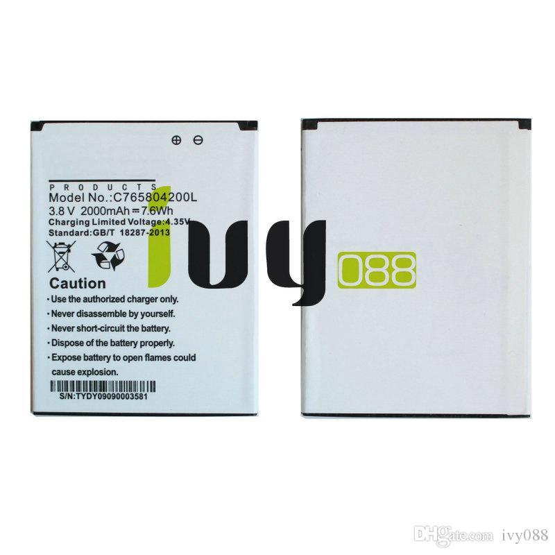 10 قطعة / الوحدة 2000 مللي أمبير C765804200L استبدال البطارية ل blu الحياة 8 Life8 L280 L280a وين HD W510 W510U بطاريات