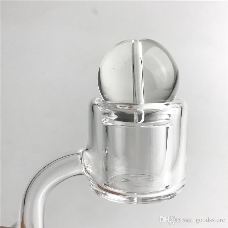 Cappuccio di carboidrati di vetro da 25 mm il narghilè piatto top al quarzo TERP TERP SLURPER TERMICA Banger Nail Banger Cancella Pyrex Pyrex Pyrex Caps Acqua Tubi