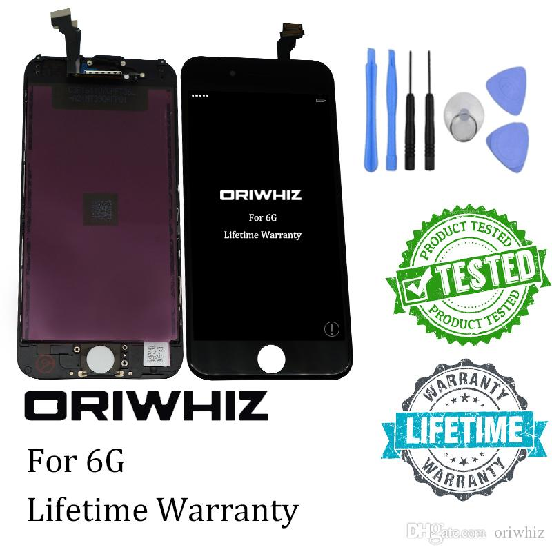 For iPhone 5 5C 5S 6 6 plus Display Screen LCD Assembly With Digitizer Glass No Dead Pixel Top Quality Free Tool Kit