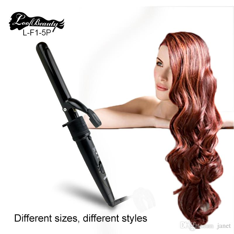 Dodo Hair Curlers 5 in 1 Curling Wand Set Interchangeable Hair Curler Rollers Electric Curling Irons Black and Red available