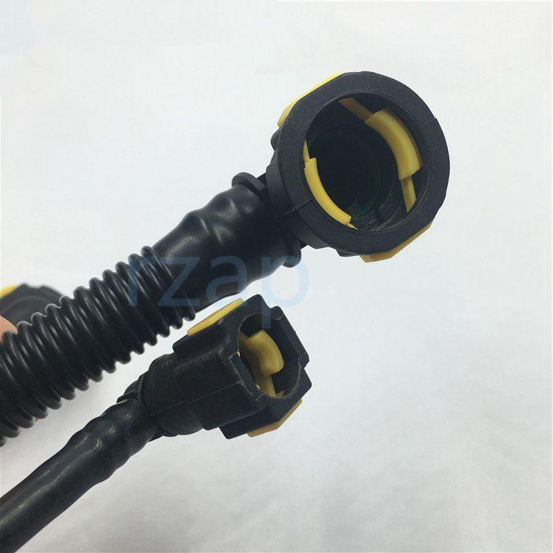 Автомобильная картер для картера Дрейпуса Трубы 4 Шланг для Peugeot 206 207 307 308 408 Citroen C2 C-Quatre 1.6 16V TU5JP4 Двигатель