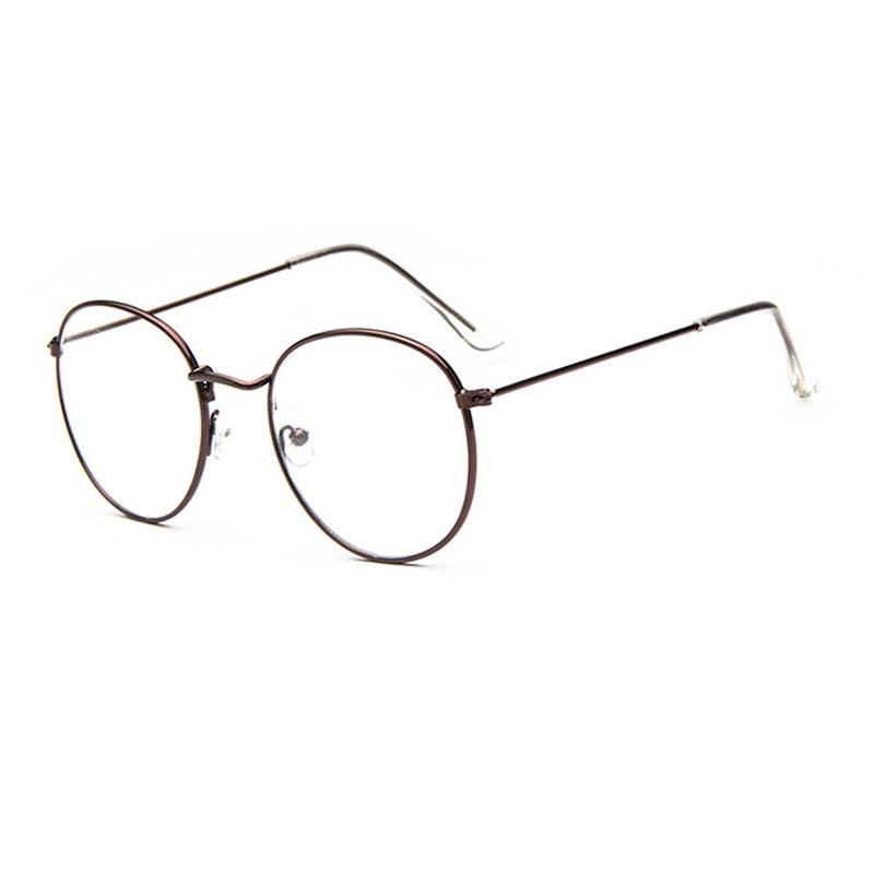 9ed35a3a843 2019 Wholesale Vintage Retro Eye Glasses Frames For Women Men Big Round  Frames Clear Glasses Eyewear Optical Glasses Brand Tag Spectacle FPG020  From ...