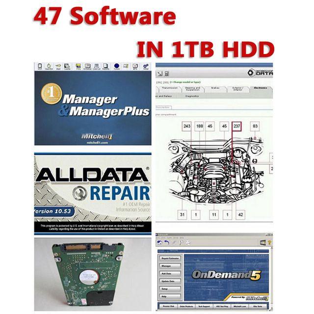 Großhandel 2016 Auto Reparatur Software Alldata Mitchell On Demand ...
