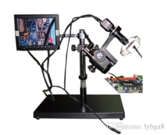 Großhandel ly ccd kamera Überwachungssystem video mikroskop mit 8
