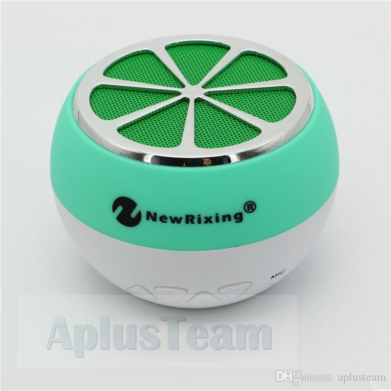 Date Style Citron Forme Sans Fil Bluetooth Haut-Parleur Mini Portable Extérieur MP3 Fascinant Citron Haut-Parleur avec Radio FM Soutien TF carte playe