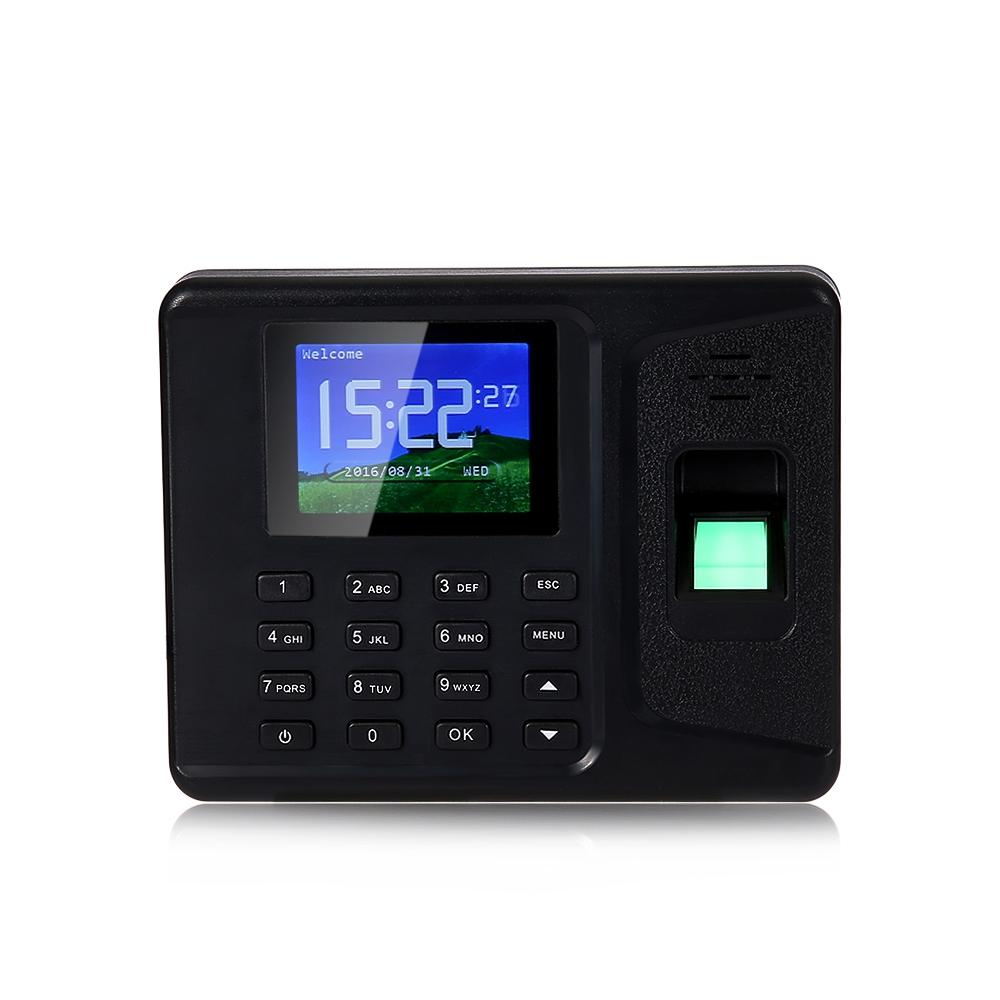Wholesale- Fingerprint Time Attendance Machine Identification Checking  Recorder Employee Digital Electronic Reader Machine