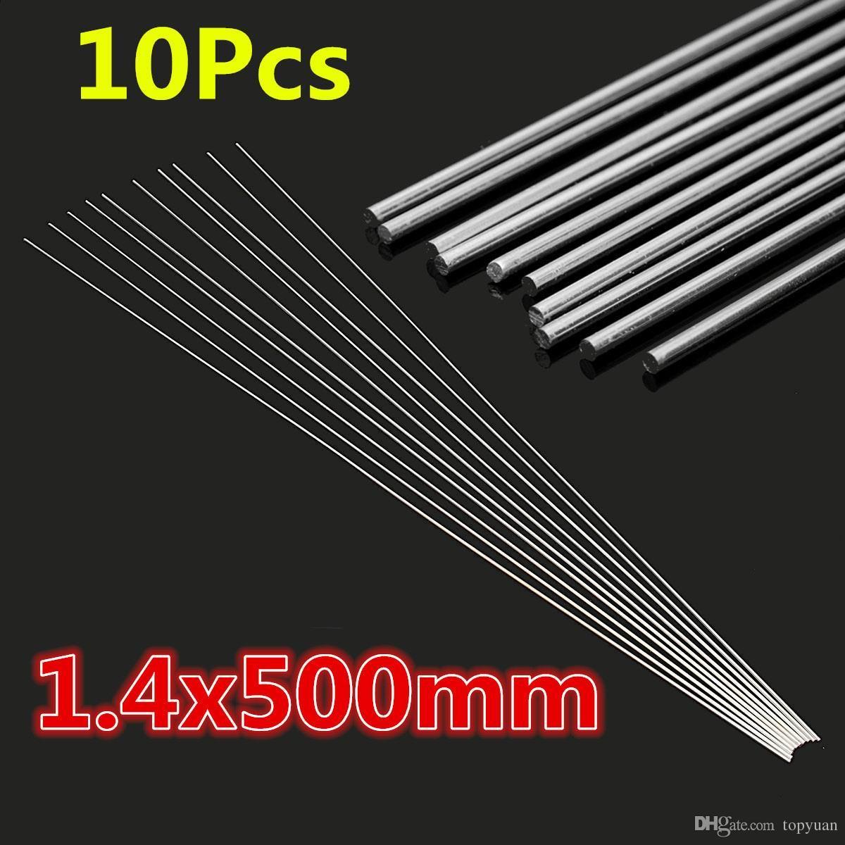 10 Stücke 1,4x500mm Niedrigtemperatur Aluminium Reparatur Schweißen Löten Lötstangen
