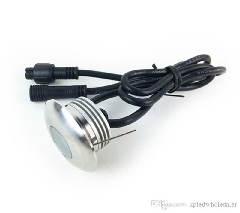 8-/ set Einbau 1W LED DC12V Fußboden-Licht für Garten Außenbeleuchtung Wasserdicht IP67 U-Lampe mit IP67 CE-Treiber