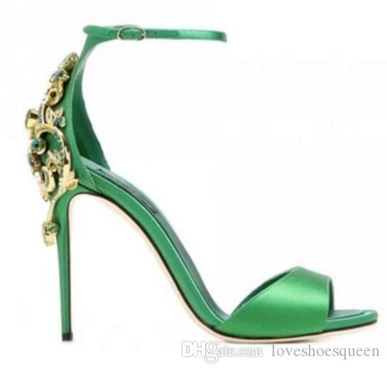 Алмаз сандалии 2017 блеск горный хрусталь женщины сандалии лето открытым носком знаменитости обувь женщина лодыжки сандалии Mujer
