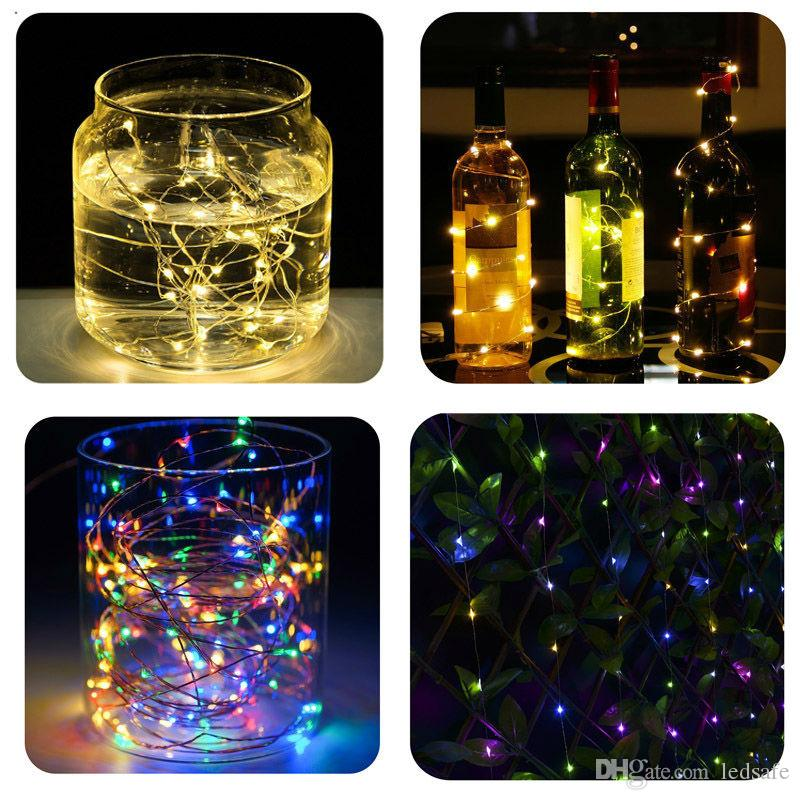 10m 33ft Xmas Fairy Lights Lighting LED Copper Wire String 5V USB Interface for Outdoor Indoor Tree Decorative Green Blue Warm white CE ROSH