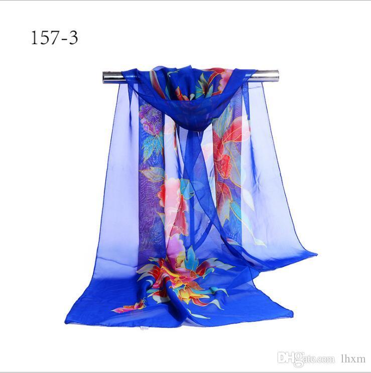 2017 Nouveau style printemps et en automne Carré femmes été section mince écharpe châle taille 155 * 55 cm y51-y57