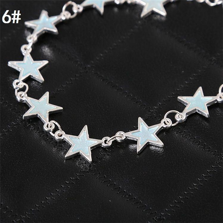 Wholesale -New women bracelet European and American hand ornaments fragrant peach heart bracelet luminous bracelets CA152