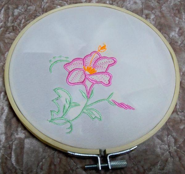 2018 Jiangqiao 10 Inch Tambour Embroidery Bamboo Circle Embroidery