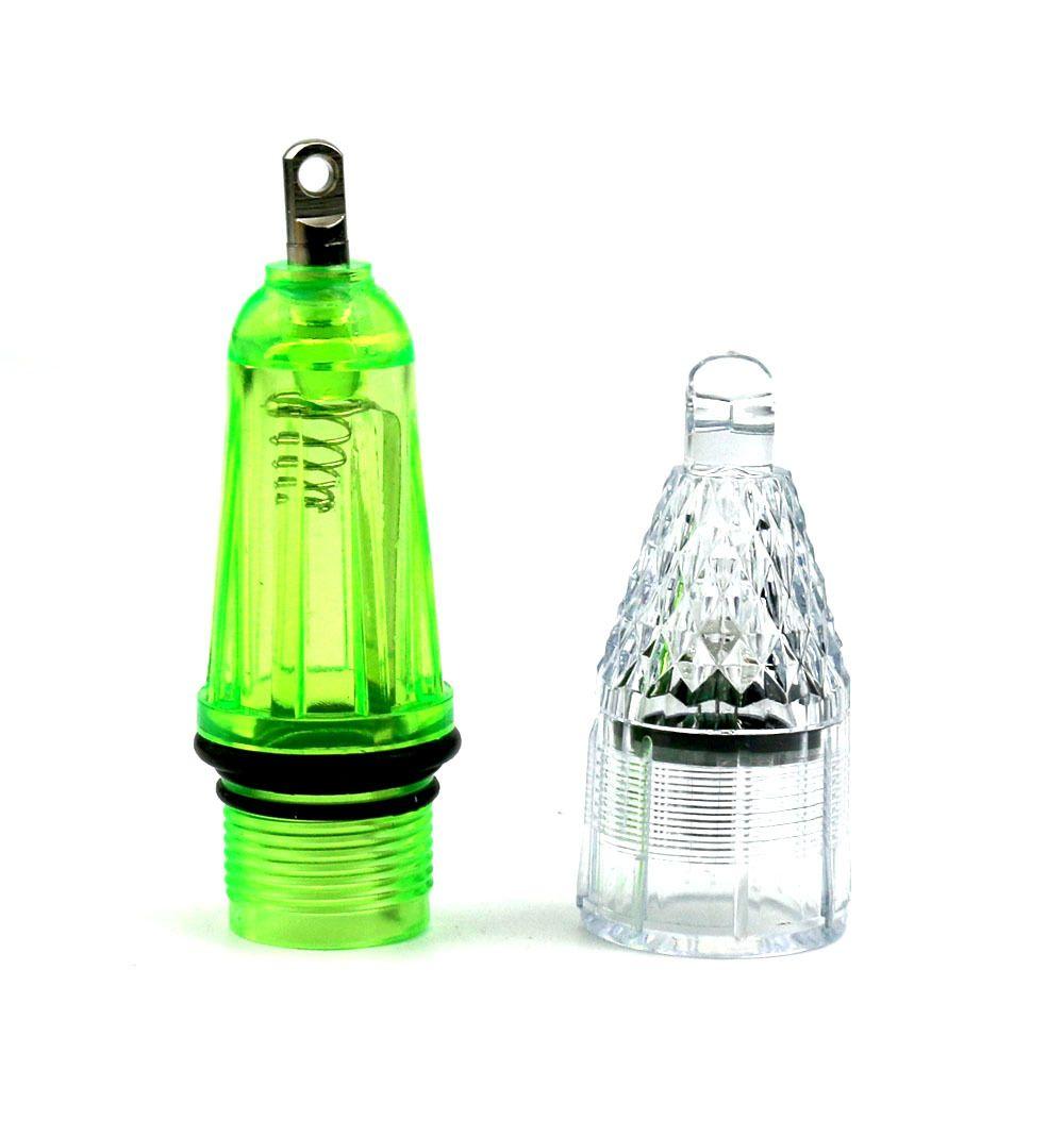 new hard plastic crank lure LED Fishing Light 12cm 28.5g Colorful fishing lamp led