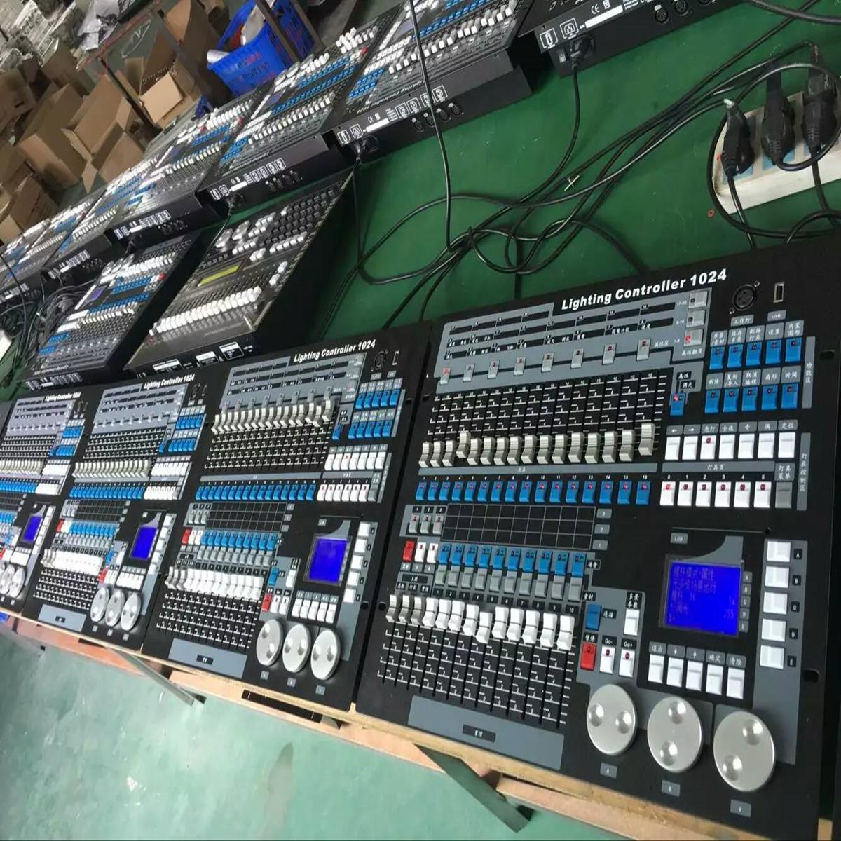 With Flight Case Kingkong 1024 Console Stage Lights DMX Controller DJ Controller DJ Equipment