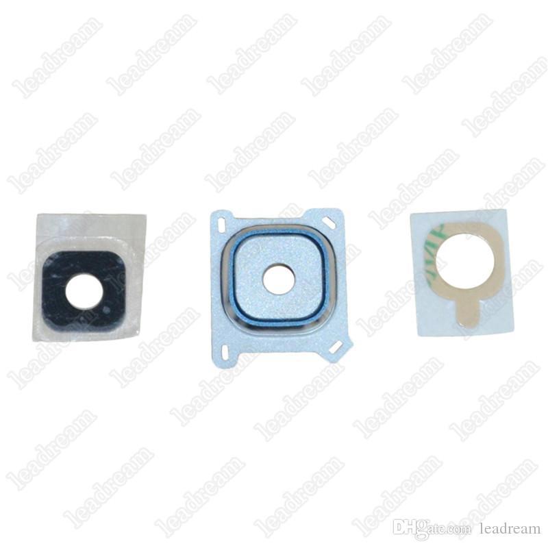 Cubierta de lente de vidrio de cámara para Samsung Galaxy E5 E7 J1 J2 J3 2016 J5 2016 J7 2016 Pieza de repuesto gratis DHL