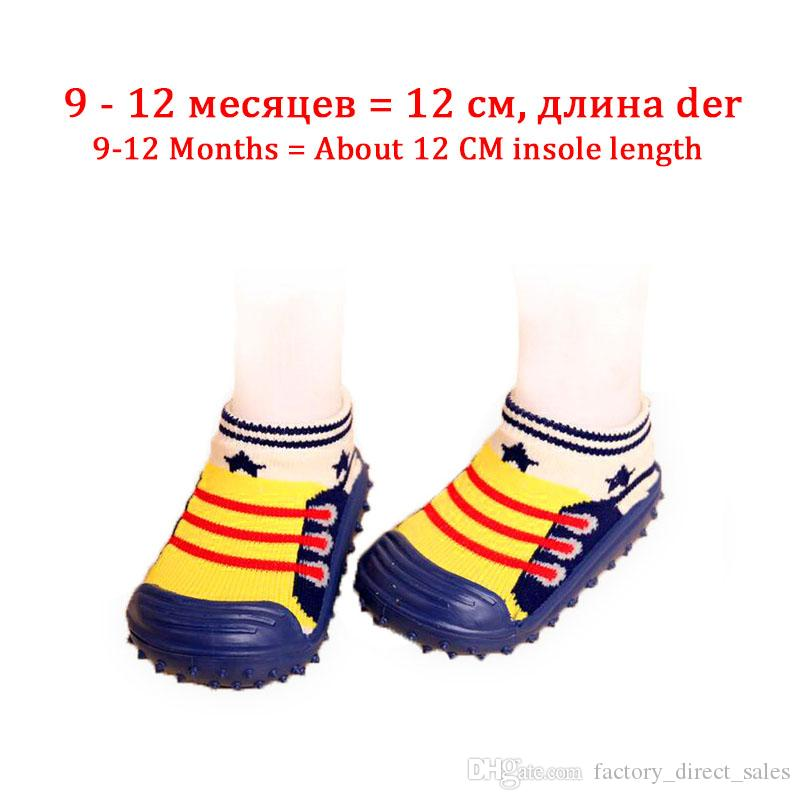 168a8d6f87a78 ... Kids Fashion First Walker With Rubber Soft Bottom Anti Slip baby socks  for newborns Toddler children's ...