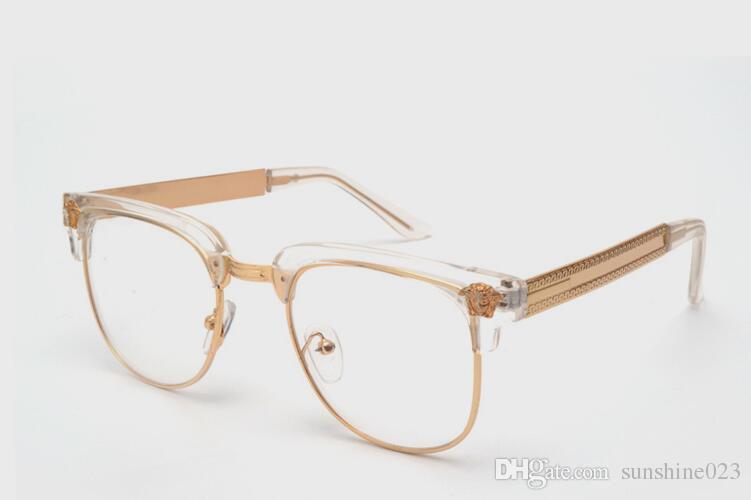 NEW 브랜드 blackgold 안경 반 프레임 무 세미 안경 UV 반 안경 프레임 안경 무료 배송