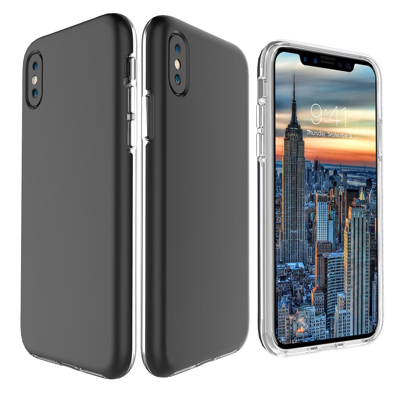 754195cf261 Personaliza Tu Movil Para IPhone XS MAX Slim Hybrid Armor Funda Para  Teléfono Para IPhone XR X 8 7 Plus Samsung S9 Plus A8 2018 J2 Primer LG G6  V30 HUAWEI ...