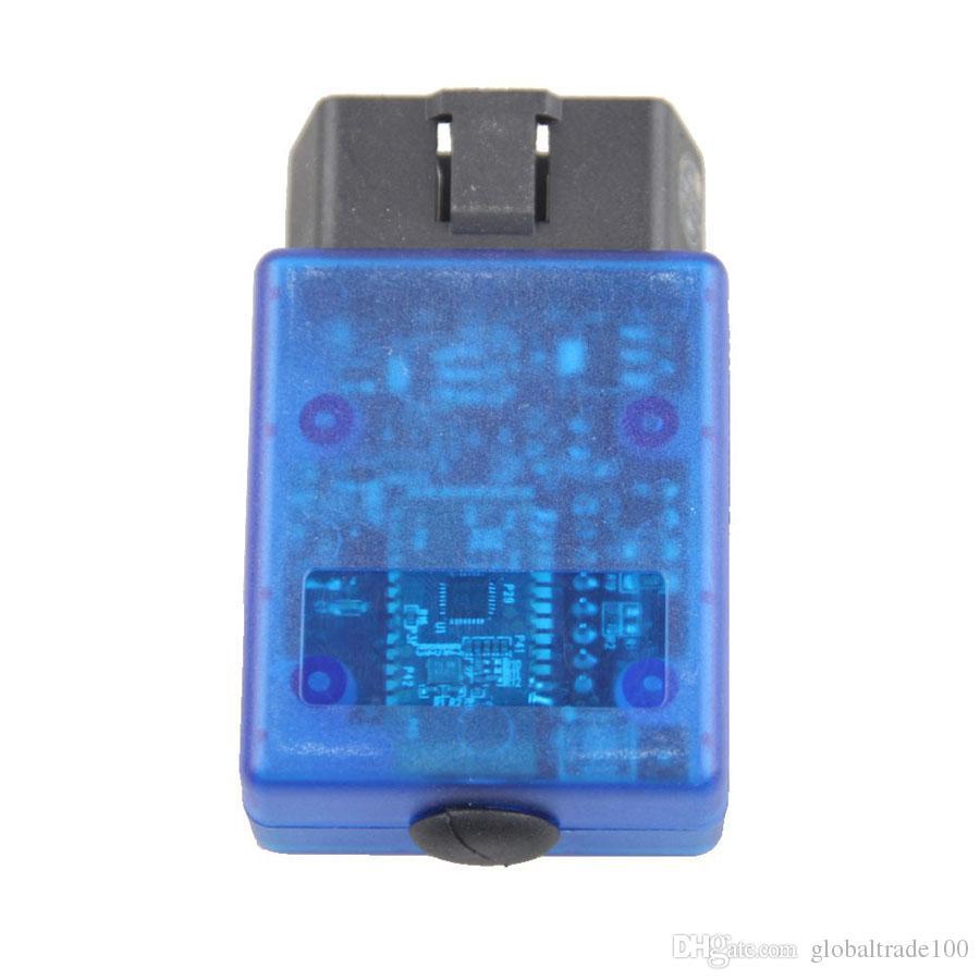 Super mini ELM327 B V1.5 Bluetooth Vgate Scan sur Android OBD2 / OBDII Elm 327 Outil de diagnostic Code Reader 5 Protocoles