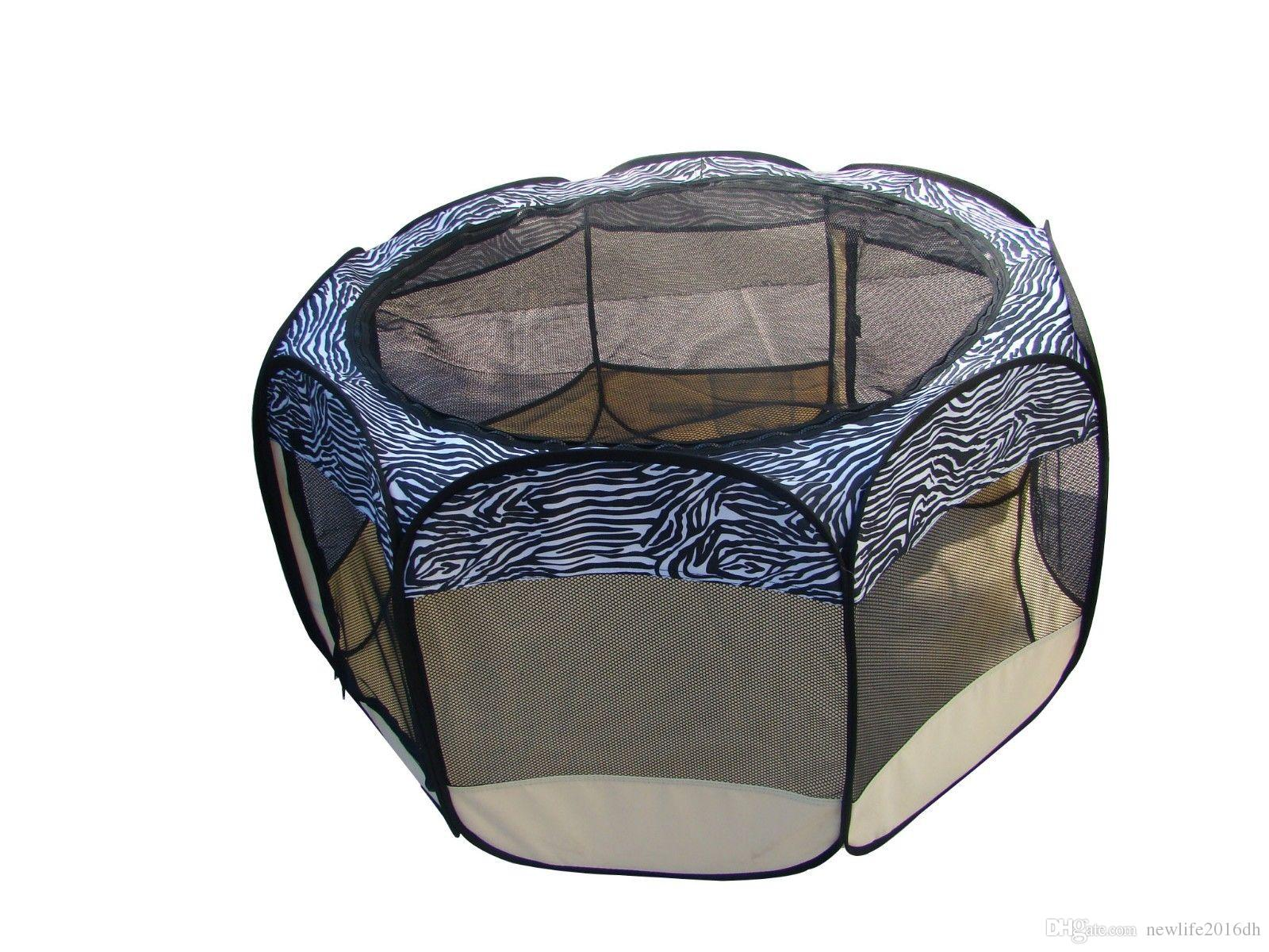 2019 New Large Pet Dog Cat Tent Exercise Play Pen Soft