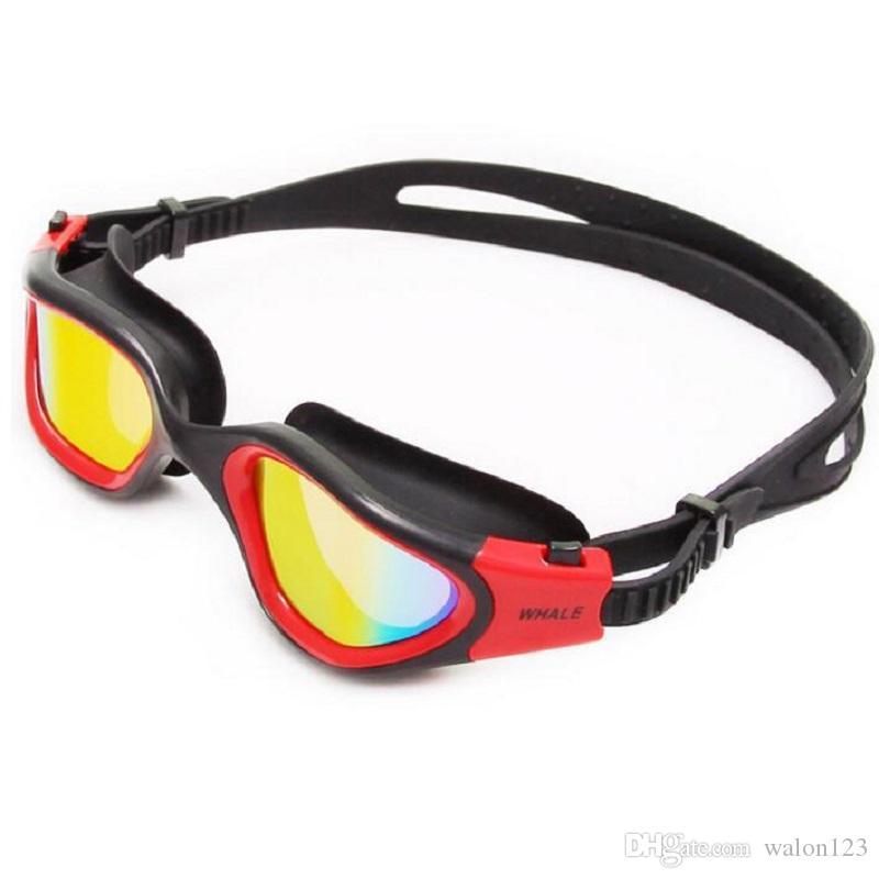 Professional Anti Fog Uv Swimming Googles Glasses Protection Waterproof Swim New