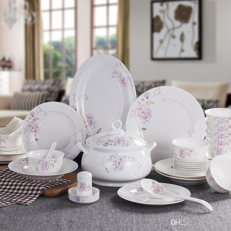 Dinnerware Sets Bone China Rose GardenHoliday Inexpensive Dinnerware Sets On Sale Gift Cheap Most Popular Dinnerware Sets Multi Color Dinnerware Sets From ... : inexpensive dinnerware sets - pezcame.com