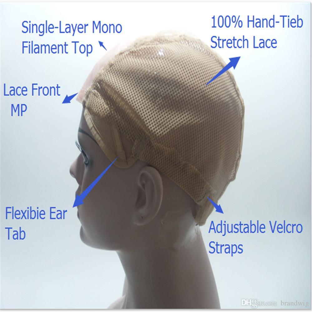 Tam Dantel İnsan Saç Peruk Yoğunluğu% 150% İnsan Saç 100% tam dantel peruk renk # L27 boyutu saç sarışın MONO mesh Güney Kore Ithal Mesl