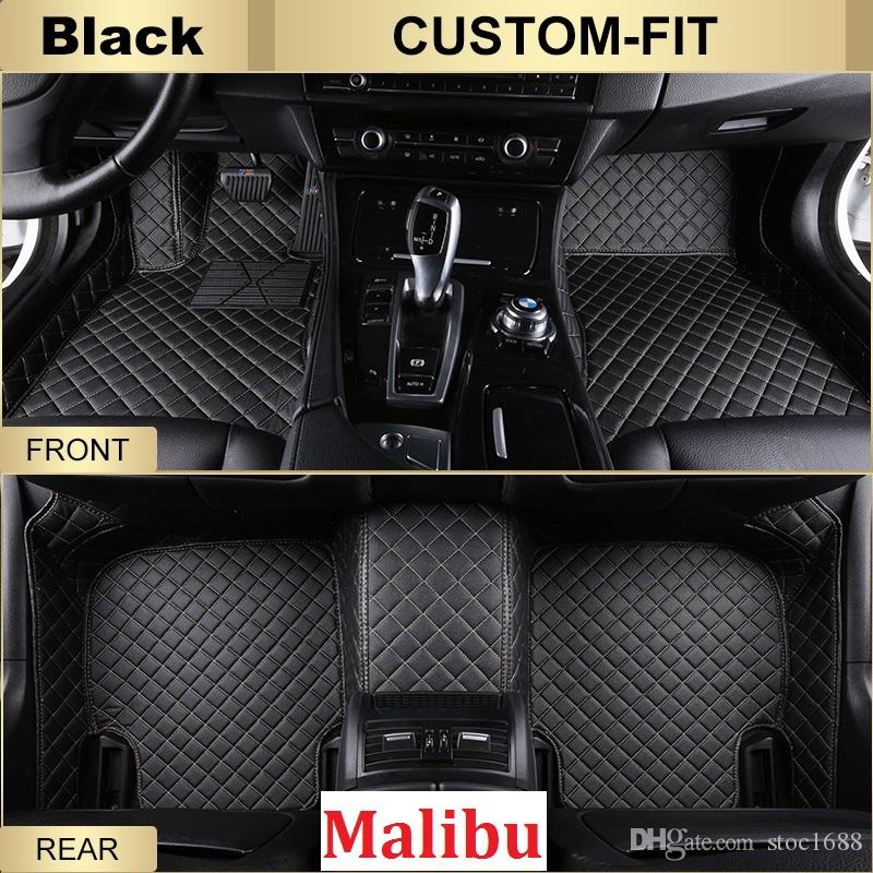 fit all from malibu hand rear front scot carpet slip weather for left anti waterproof model chevrolet floor mats custom product car leather driver