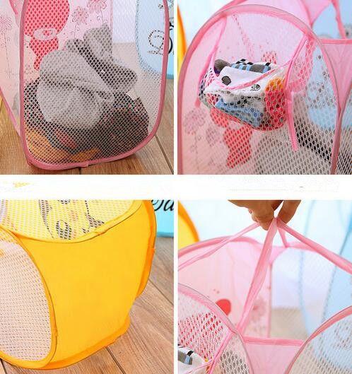 32*47.5cm Folding Dirty Clothing Laundry Storage Basket Children's Toys Shoes Sundries Storage Organizer