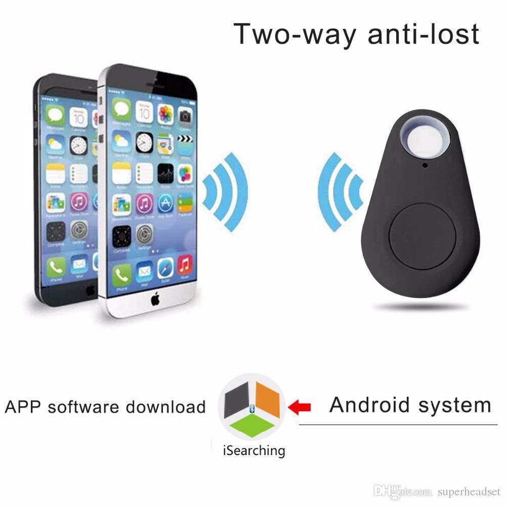 Беспроводная связь Bluetooth Smart Anti потерянный трекер бумажник ребенка ключ Finder потерянный вещь приемник датчик сигнализации локатор GPS