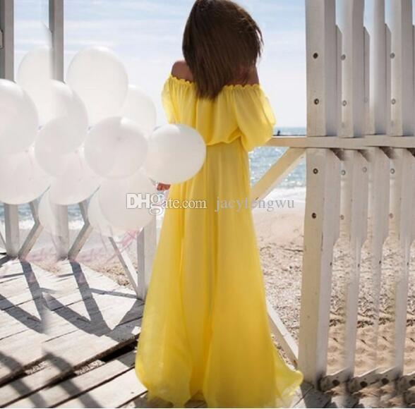 mother and daughter clothes family matching girl chiffon skirt baby clothing girls princess clothes children fashion drop shopping QZZW049