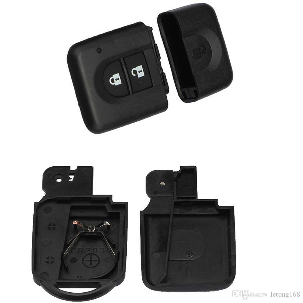 Guaranteed 100% 2Button Remote Key FOB Case Shell For Nissan MICRA Xtrail QASHQAI JUKE DUKE NAVARA