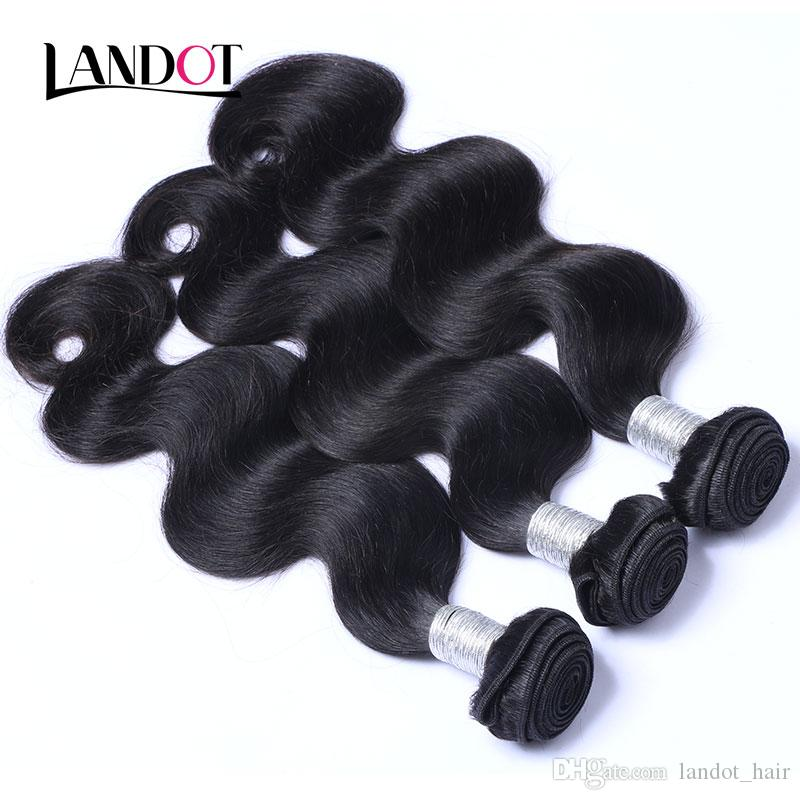 360 Full Lace Frontal Closure With 2 Bundles Brazilian Virgin Hair Body Wave Peruvian Indian Malaysian Cambodian Human Hair Weaves Closures