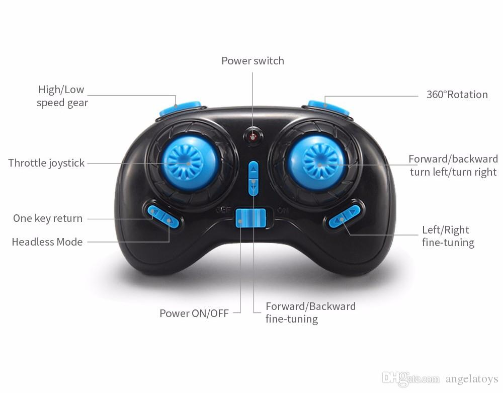 Original JJRC H36 Mini Drone 2.4G 4CH 6 Axis Rc Micro Quadcopters Helicopter With Headless Mode One Key Return Function Best Toy