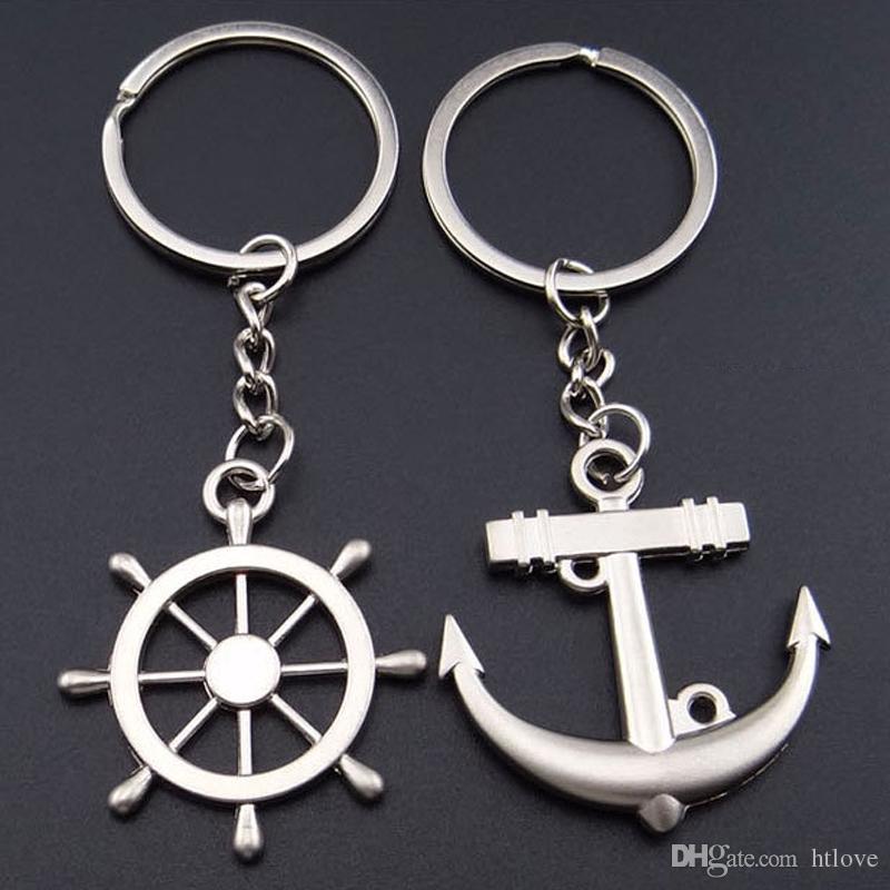 Couple amant porte-clé - e Creative mode ancre volant porte-clés porte-clés porte-clés cadeau de la Saint-Valentin