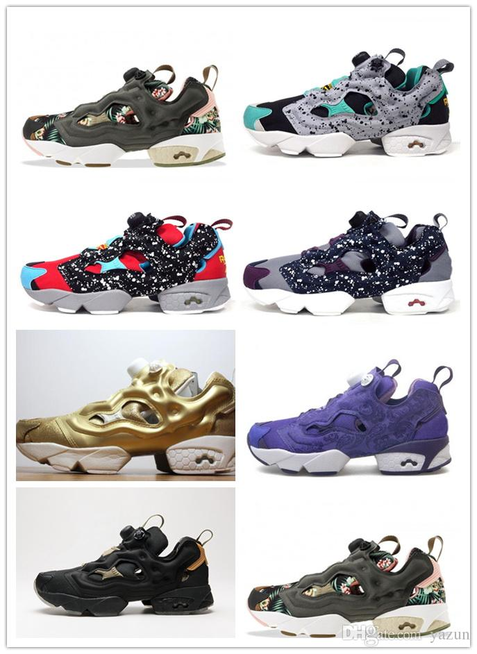 2018 Wholesale Invincible X Instapump Fury Og Tech Fury Superman Training  Sneakers,Tiger Camo,Orchard,Mens Concepts X Insta Fury 20 Sneakers Shoe  From Yazun ...