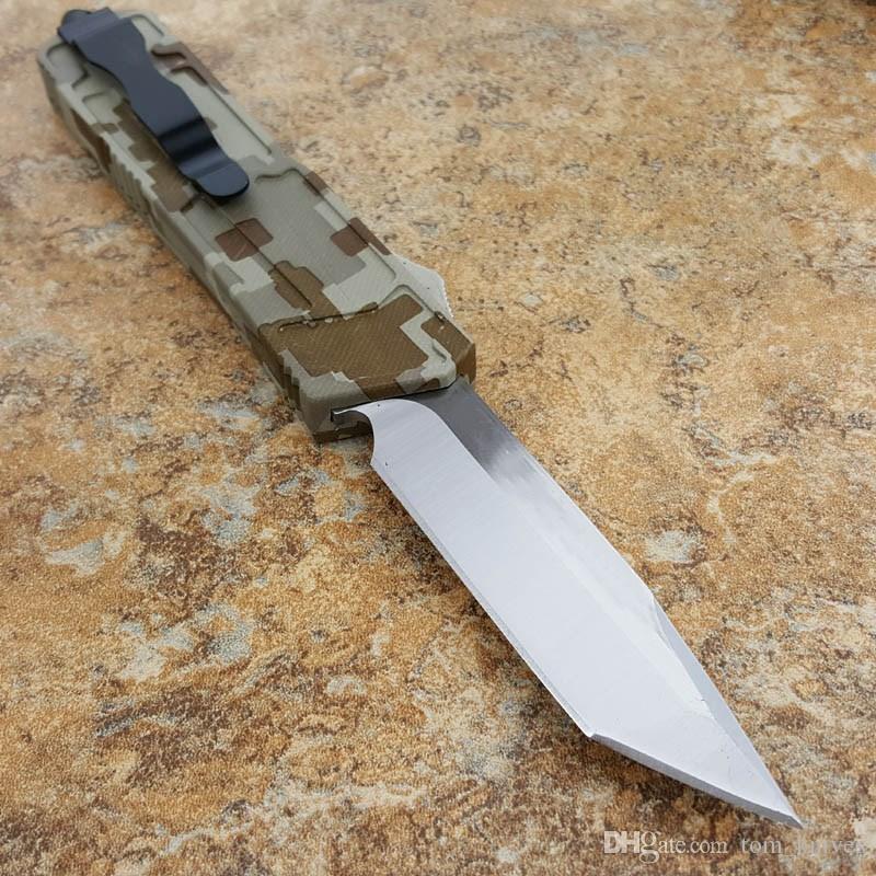 Tavsiye mi mi Orduda kamuflaj serisi 3.5 inç Avcılık Erkekler için Katlanır Cep Survival Knife Xmas hediye kopyaları