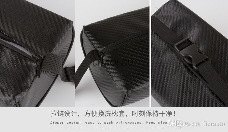 Car Styling Respira Auto Auto Seat Seat Head Neck Pest Cushion Poggiatesta Poggiapiedi Audi S Line A3 A4 A6 A8 Q5 R8 Q5 Q7 TT A5