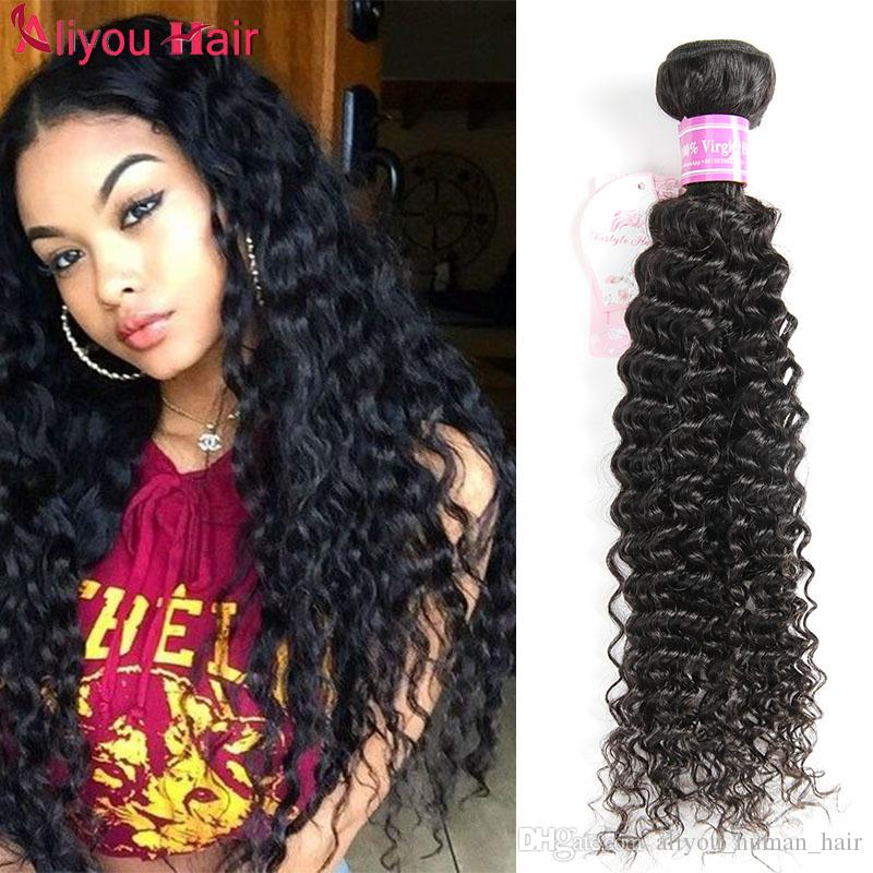 Mongolian Kinky Curly Hair Extensions Brazilian Peruvian Indian