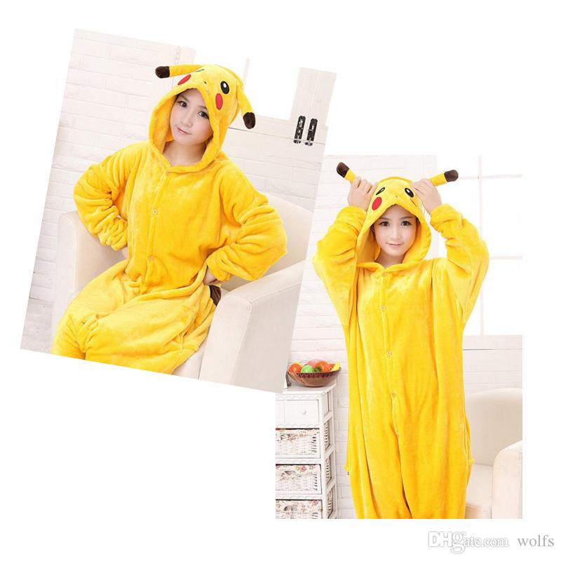 Cosplay Pikachu New Winter Flannel Toilet Cartoon One Piece Pajamas Cute Female Couple Models Menu0027S Pajamas Dhl Free Wonder Woman Costume Easy Halloween ...  sc 1 st  DHgate.com & Cosplay Pikachu New Winter Flannel Toilet Cartoon One Piece Pajamas ...