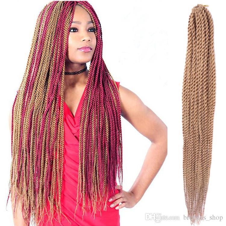 Zury Sis Crochet Braid Senegalesische Twist Flechten Haar Synthetische Kanekalon Schwarze Frauen Stile Einfach Installieren Frisuren Usa Afrikanischen