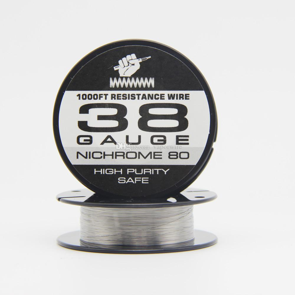 Hot Clean Heating Resistance Wire Nichrome 80wire 1000ft 38g For Rda ...