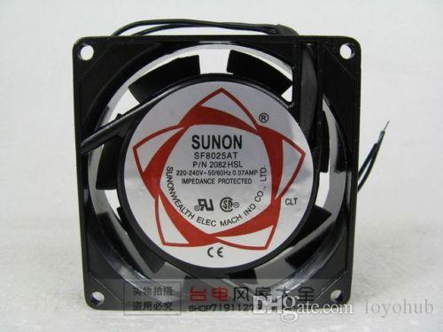 2018 Sunon Sf8025at Ac Fan 2082hsl 220v/240v 8025 Cabinet Cooling Fan 80mm  2 Wire From Loyohub, $23.11 | Dhgate.Com