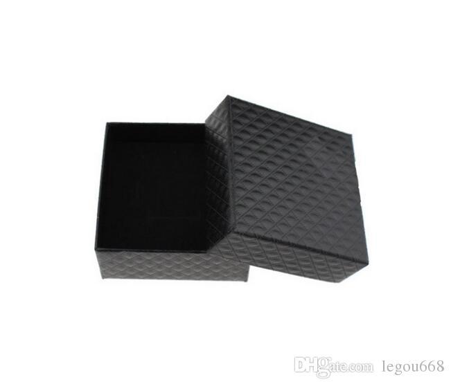 2017 New Jewelry Box 5 * 5 * 3cm multi Farben Ringe Ohrringe / Anhänger-Box Anzeige Verpackung Geschenke Box G384