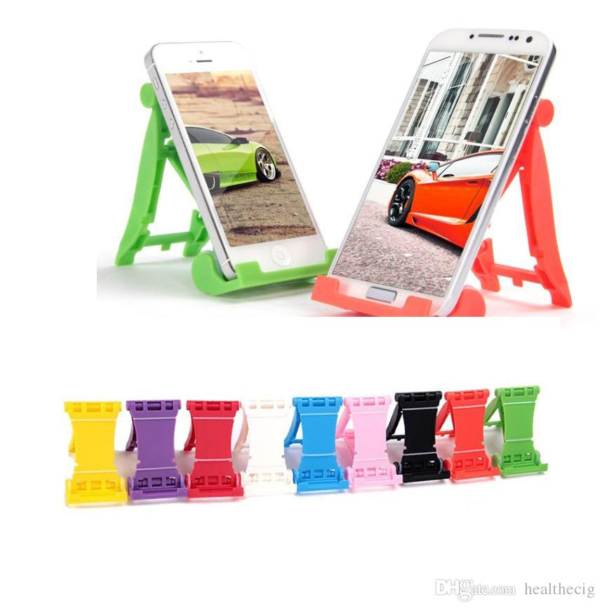 Three-color desktop universal folding holder mobile phone stand Tablet PC lazy stent cell phone accessories