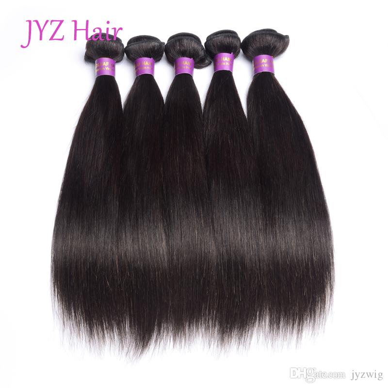 Brazillian Peruvian Indian Malaysian Virgin Hair Wefts Stright 3 Bundles Human Hair Extensions Unprocessed Stright Virgin Human Hair Weave